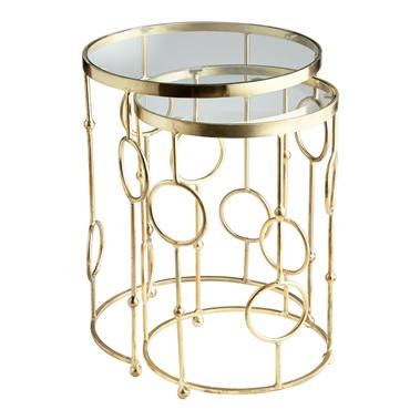 2-Piece Perseus Nesting Tables Set