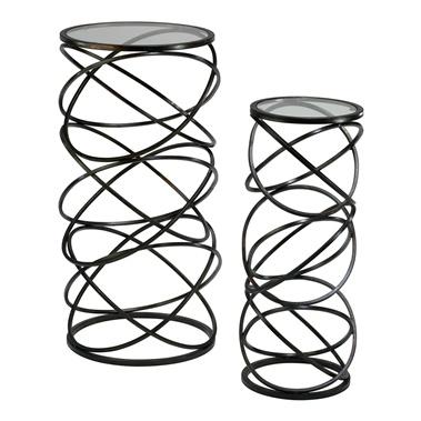 2-Piece Spiral Tables Set