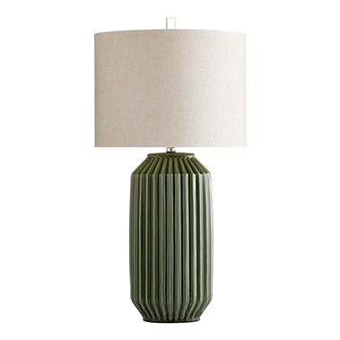 Allison Table Lamp with Oval Shade