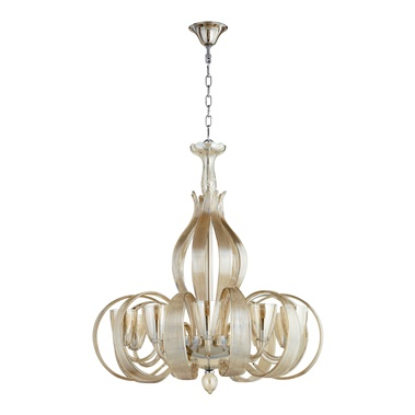 Lucille 10 Lights Chandelier