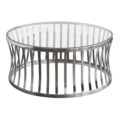 Capri Round Cocktail Table