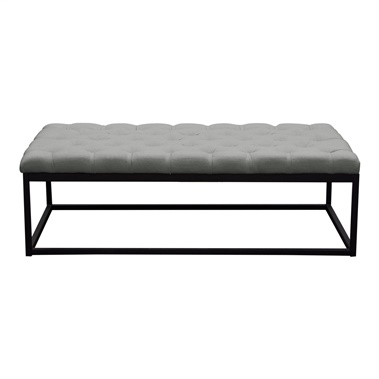 Mateo Tufted Bench