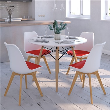 Eiffel / Luft 5-Piece Dining Set