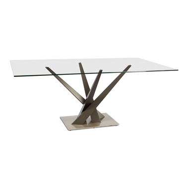 Crystal Rectangle Dining Table