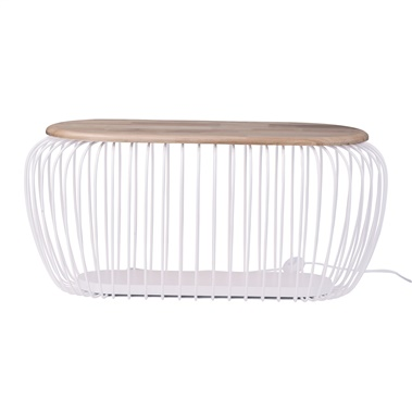 Cage Oval Floor Lamp