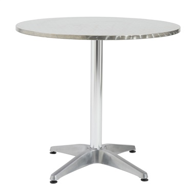 Allan Aluminum Round Indoor/Outdoor Table