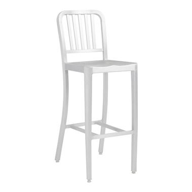 Aluminum Cafe Bar Stool