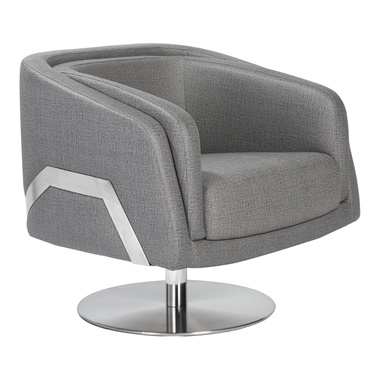 Cassius Swivel Lounge Chair