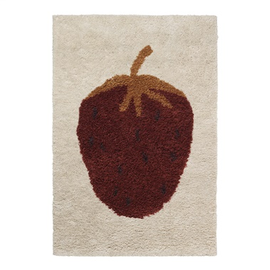 Fruiticana Tufted Strawberry Rug