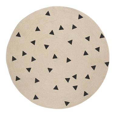 Jute Triangles Carpet