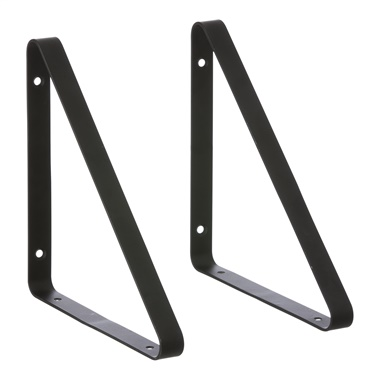 Powder Coated Metal Shelf Hanger