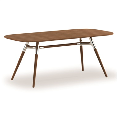Montreal Dining Table in Classic Bamboo