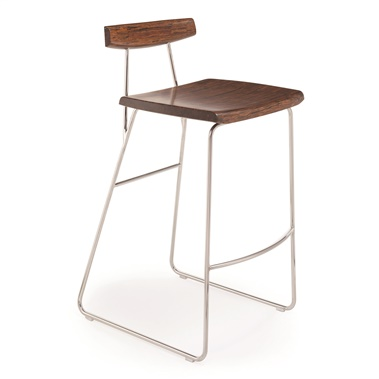 "Paris 26"" Counter Height Stool with Back"