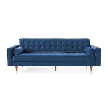 Hudson Velvet Sofa