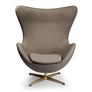 Jacobsen Egg Chair (Brass)