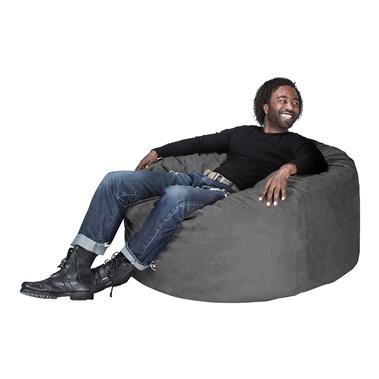 Classic Saxx 4' Round Bean Bag Chair