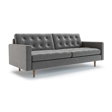 Modern Couch Intended Kayla Sofa Midcentury Sofas Couches u0026 Sectionals