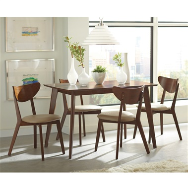 Kersey Collection Dana 5-Piece Dining Set