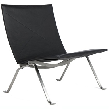 Kjaerholm Leather Easy Chair