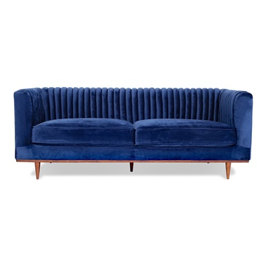 Laurel Velvet Sofa