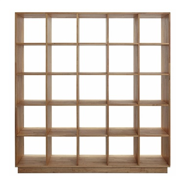 LAX Series 5x5 Bookcase