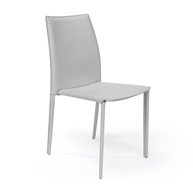 Manta Leather Stacking Chair - Closeout
