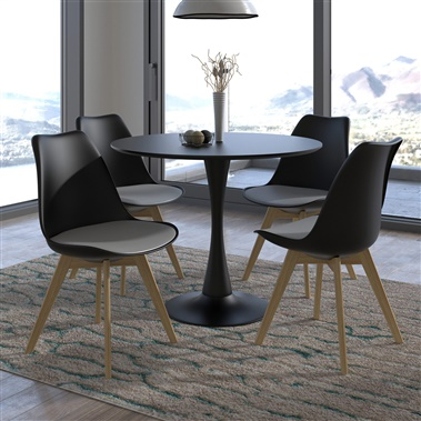 Marchesa / Luft 5-Piece Dining Set