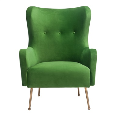 Aurora Sea Velvet Chair