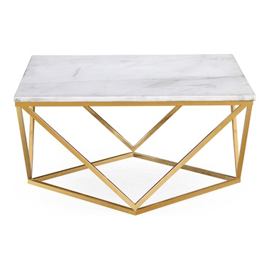 Clarence Marble Cocktail Table