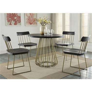 Dee Pine Dining Set