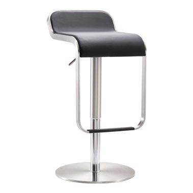 Fern Steel Adjustable Barstool