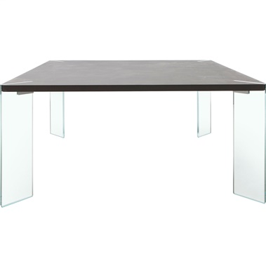 Bari Dining Table with Glass Leg