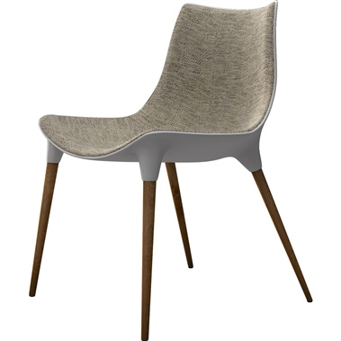 Langham Dining Chair (Fabric Seat)
