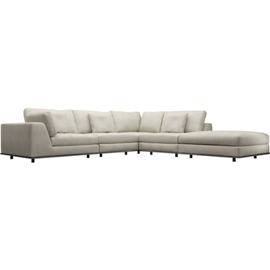 Perry 1 Corner Sectional Sofa