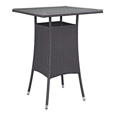 Convene Square Outdoor Patio Bar Table