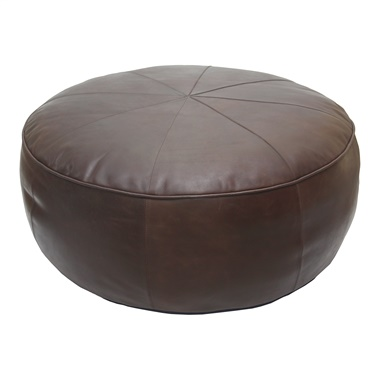 Arthuro Leather Ottoman