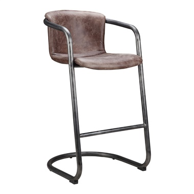Freeman Light Brown Bar Stool (Set of 2)