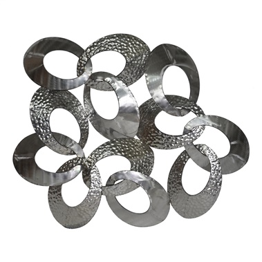 Looped Metal Wall decor