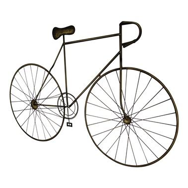 Mcmillan Bronze Bicycle Wall Art