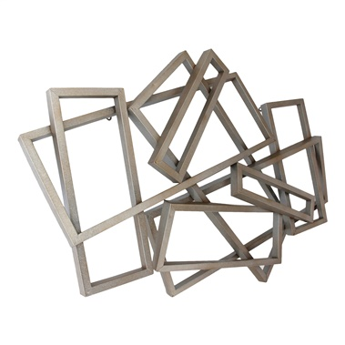 Metal Rectangular Wall Decor
