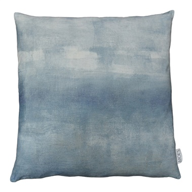 Misty Velvet Feather Cushion