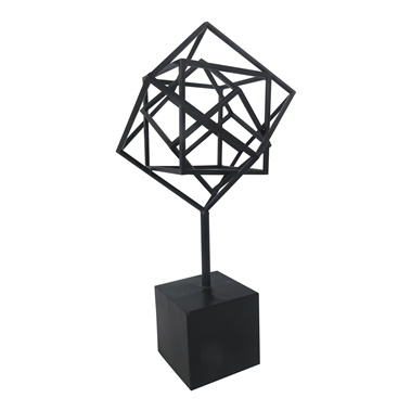Nested Cubes on Stand