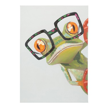Peeking Frog Wall Decor