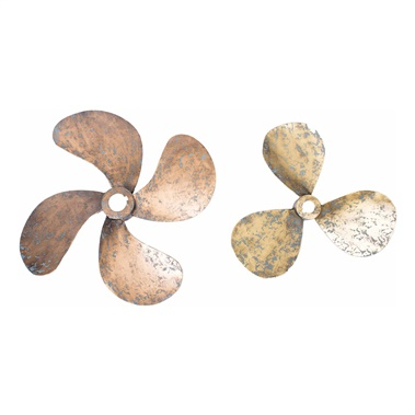 Propellers Wall Decor (Set of 2)