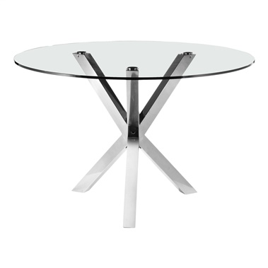 Redondo Dining Table with Glass Top