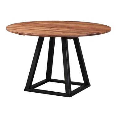 Tri-Mesa Round Dining Table