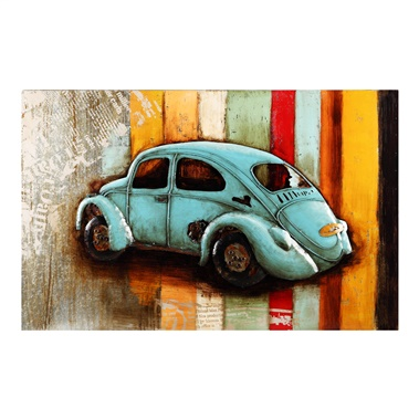 Vintage Beetle Wall Decor