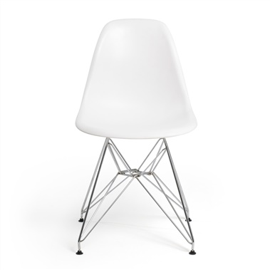 Molded Plastic Eiffel Side Chair