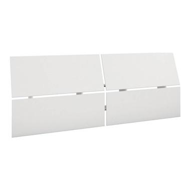 345303 Full Size Panoramic Headboard (White)