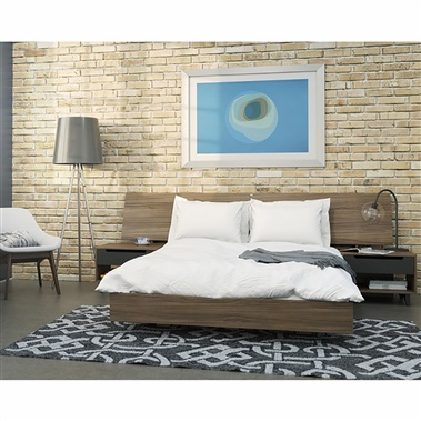400694 Alibi Queen Size Bedroom Set